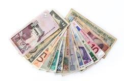 Światowe waluty Obrazy Stock