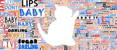 Światowej sztuki typograficzny portret Fotografia Royalty Free