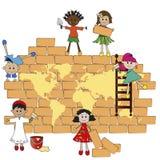 Światowi dzieci Fotografia Royalty Free