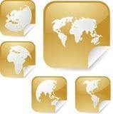 światowi mapa majchery Zdjęcie Royalty Free