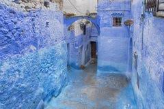 Światowi miasta, Chefchaouen w Maroko Obrazy Stock