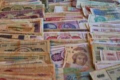 ?wiatowy banknotu asortyment kolekcja numizmatyczna zdjęcie royalty free