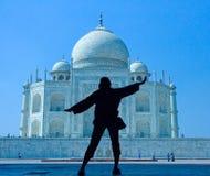Światowy cud Taj Mahal Fotografia Royalty Free