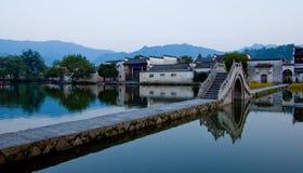 Światowy dziedzictwa kulturowego Hong cun Obrazy Royalty Free