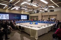 Światowy Humanitarny szczyt, Istanbuł, Turcja, 2016 Zdjęcie Royalty Free