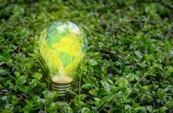 Światowy lampowy jaskrawy fotografia stock