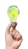 Światowy lampowy jaskrawy zdjęcie stock