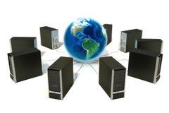 Światowy networking Obrazy Stock