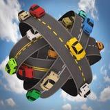 Światowy ruch drogowy Zdjęcie Royalty Free