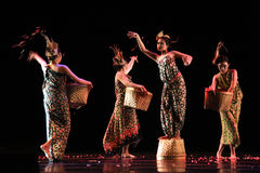 Światowy tana dnia uczestnik od Jawa Zdjęcia Royalty Free