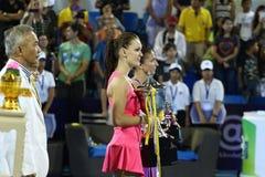 Światowy Tenisowy Tajlandia mistrzostwo 2016 Zdjęcie Stock