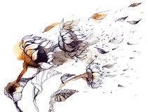 wiatr Ilustracja Wektor