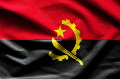 wiatr falowania angoli flagę royalty ilustracja