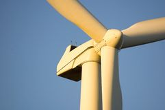 wiatr farmy ix Zdjęcia Royalty Free