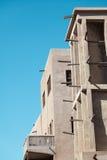 Wiatr góruje w Dubaj Obraz Royalty Free