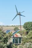 Wiatr i energii słonecznej pokolenie dla waterpump Obraz Royalty Free