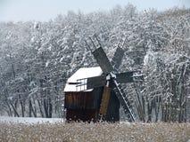 wiatr mill Zdjęcie Royalty Free