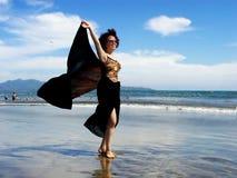 wiatr morza Fotografia Royalty Free