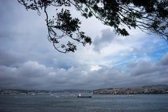Wiatr nad Bosphorus w Turcja Obraz Royalty Free