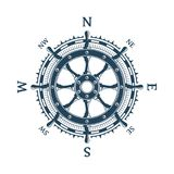 Wiatr różany i steru koło obrazy stock