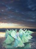 wiatr taniec Zdjęcie Royalty Free