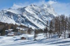 Wiatr W górach Zdjęcie Stock
