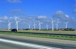 wiatr z gospodarstw rolnych Fotografia Stock