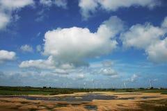 wiatr z gospodarstw rolnych Fotografia Royalty Free