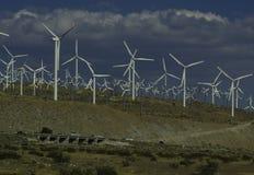wiatr z gospodarstw rolnych Obraz Royalty Free