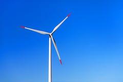 Wiatraczek dla odnawialnej elektrycznej produkci energii Zdjęcia Royalty Free