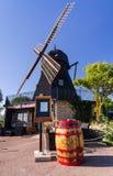 Wiatraczek kawy restauracja Fotografia Stock