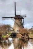 Wiatraczek, Mulina, Holandia Zdjęcia Stock