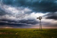 Wiatraczek na Kolorado równinach Obrazy Stock