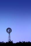 Wiatraczek sylwetka w Kruger parku Zdjęcie Royalty Free