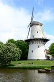 Wiatraczek w parkowym mieście Middleburg, holandie & x28; Holland& x29; Zdjęcia Stock
