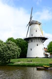 Wiatraczek w parkowym mieście Middleburg, holandie & x28; Holland& x29; Obraz Royalty Free