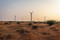Wiatraczka źródło energia odnawialna obraz royalty free