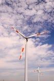 Wiatraczka silnik wiatrowy Obrazy Stock