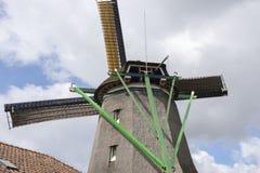 Wiatraczki przy Zaanse Schans Fotografia Royalty Free