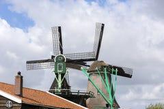 Wiatraczki przy Zaanse Schans Fotografia Stock