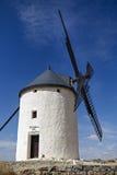 Wiatraczki w Hiszpania, los angeles Mancha, sławny Don Quijote Obraz Stock