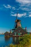 Wiatraczki w Zaanse Schans, Holandia, holandie Zdjęcia Royalty Free