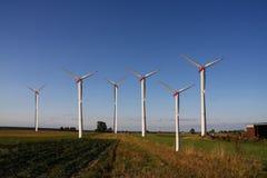 wiatrak z gospodarstw rolnych Fotografia Royalty Free
