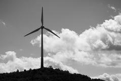 Wiatrowa energia zdjęcia stock