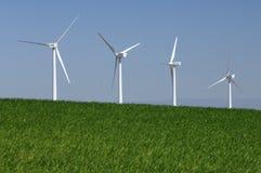 Wiatrowa energia obrazy stock