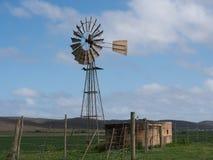 Wiatrowa pompa wodna Obrazy Stock