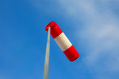 Wiatrowa skarpeta Zdjęcie Stock