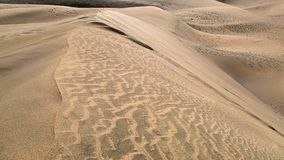 Wiatrowe podmuchowe piasek adra nad piasek diunami zbiory