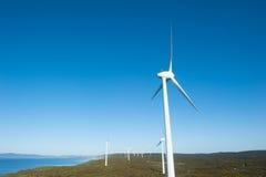 Wiatrowego gospodarstwa rolnego energii zachodnia australia Zdjęcia Royalty Free