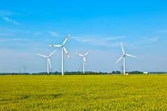 Wiatrowej energii wowers stać obrazy royalty free